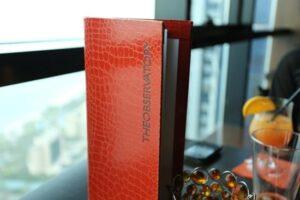 The Observatory – restauracja i bar w Dubai Marina