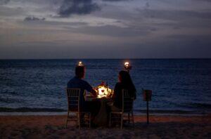 Romantyczna kolacja w Dubaju
