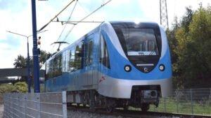 Nowe wagony metra w Dubaju... prosto z fabryki w Polsce!